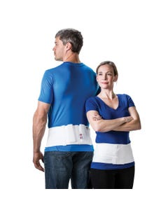 """Core Products SIB-6024 6"""" Triple Pull Sacral Back Support Belt with Split Pad"""