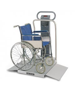 Welch Allyn Scale-Tronix 6702 Portable Oversized Wheelchair Scale