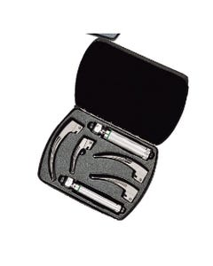 Welch Allyn Fiber Optic Halogen HPX Laryngoscope Set