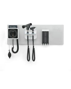 Welch Allyn Green Series 777 Integrated Wall Diagnostic System with Aneroid Sphygmomanometer
