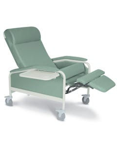 Winco 6540 CareCliner Clinical Recliner with Tray, Extra Large, Standard Colors