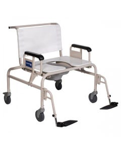Gendron Bariatric Wheeled Shower Commode Chair