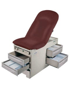 Brewer Basic 4000 Exam Table with Side Drawers, Standard Upholstery, Left Side Drawer