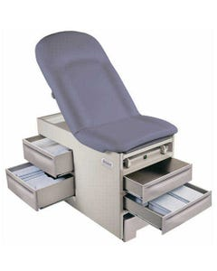 Brewer Basic 4001 Exam Table with Side Drawers, Standard Upholstery, Left Side Drawer