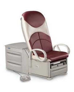 Brewer 6000 Access High Low Exam Table, Plush Upholstery