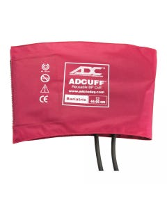 """ADC Adcuff Bariatric Blood Pressure Cuffs, 17.3 to 26"""" (44 to 66 cm), 2 Tubes, 845-12BXBD-2"""