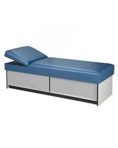 Clinton 3770 Cabinet Style Recovery Couch with Sliding Doors, Non-Adjustable Pillow Wedge-8522