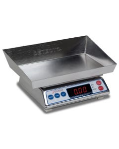 Detecto AP-4KD Stainless Steel Digital Diaper Scale