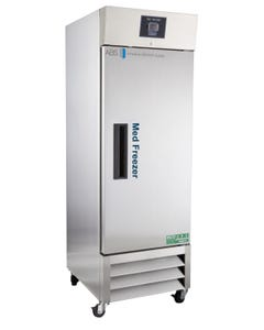 American BioTech Supply PH-ABT-HC-SSP-23FA 23 Cu. Ft. Stainless Steel Auto Defrost Freezer Solid Door