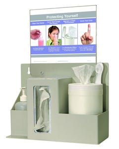 Bowman ED-097 Infection Prevention Organizer, ED-097