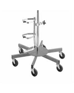 Brewer 43429 Oxygen Cylinder Holder for  Infusion Pump Stand Series