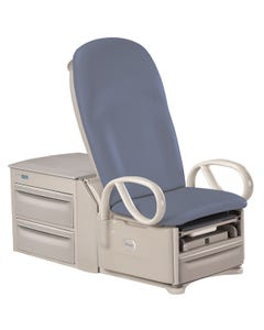 Brewer 6000 Access High-Low Power Exam Table with Pneumatic Back