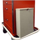 Harloff 680409 2-Gallon Metal Waste Container w/ Cover (includes mounting hardware)