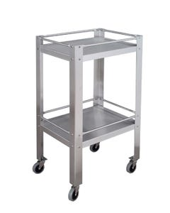UMF Medical SS8096 Stainless Steel Utility Table with Shelf