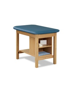 Clinton 1703 Heavy Duty Taping Table with Shelving