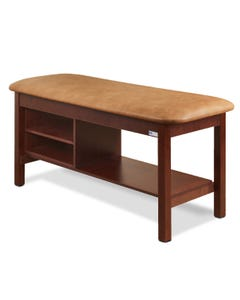 Clinton 300 Classic Series Treatment Table with Shelf