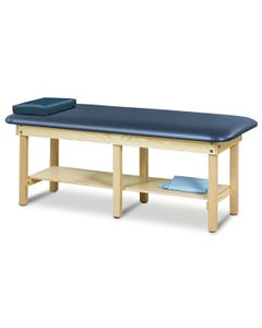 Clinton 6190 Classic Series Bariatric Treatment Table with Shelf