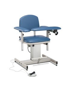 Clinton 6341 Power Series, Padded, Blood Drawing Chair