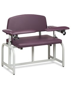 Clinton Lab X Series Blood Drawing Chair with Padded Arms