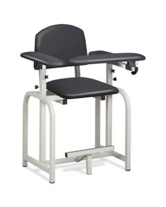 Clinton 66092 Lab X Series Extra-Tall Blood Drawing Chair with Padded Arms