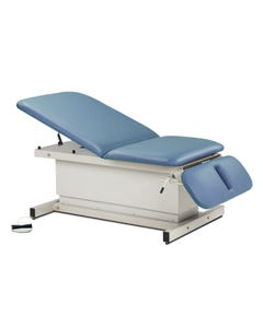 Clinton 84438 Bariatric Shrouded Power Exam Table with Drop Section