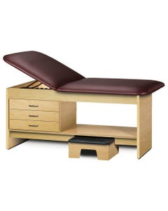 Clinton Treatment Table with Drawers & Stool