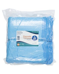 Dynarex 1340 Disposable Chux Underpad, Tissue, Case of 300