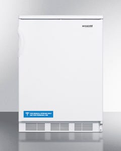 Summit Appliance FF67 Refrigerator with Automatic Defrost, 115V