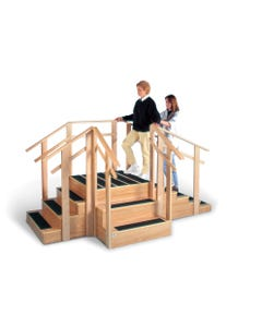 Hausmann 1570 3-in-1 Training Staircase, 1570