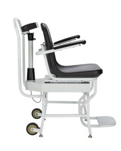 Health o meter 594KL Professional Digital Chair Scale with Foldable Foot Rest & Flip Arm Rest