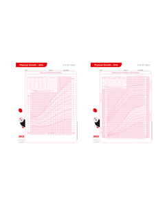 seca 4060G Growth Charts for Girls Aged 2-20 Years