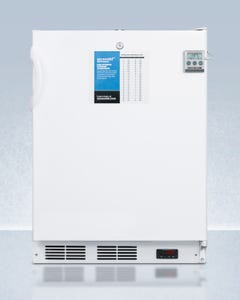 Summit Appliance VT65M7BI Built-In NSF-7 Subzero Medical Freezers, Clear Drawers, (ADA) Base Model with Digital Thermostat, ,