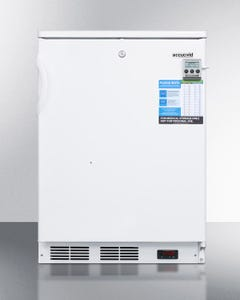 Summit Appliance VT65 Built-in undercounter laboratory freezer capable of -30 degrees C (-22 degrees F) operation