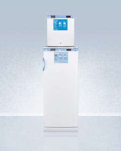 Summit Appliance Accucold FFAR10-FS24LSTACKMED2 Vaccine Combination Refrigerator and Freezer
