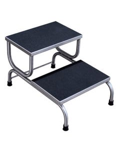UMF Medical SS8370 Double Step Stainless Steel Foot Stool