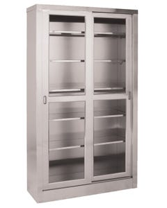 UMF Medical SS7816 Stainless Steel Large Storage Cabinet