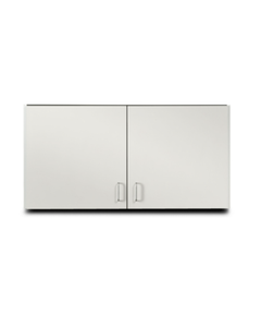 Clinton Wall Cabinet with 2 Doors Gray