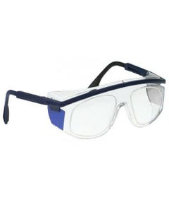 Wolf X-Ray Corporation 14138-BC Lead Protective X-Vision Eyeglasses, Blue/Clear
